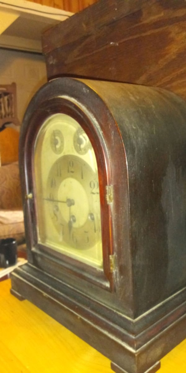 Gustav Becker p18 mantle clock c656875d-ec7d-4b8d-b50e-b7603cce2fbe