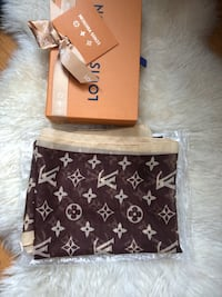 Louis Vuitton  inspired sheer scarf (new) SF, 94121