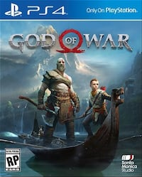 PS4 God of War case Fairfax