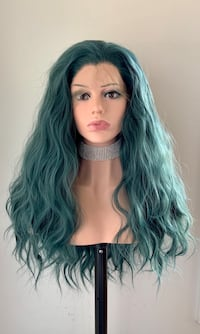 Beautiful Emerald Color 13x3 Lace Front Wig