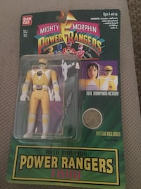 Trini Yellow Power Ranger figure Harpers Ferry, 25425