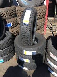 235/75R15 SET OF 4 GOODYEAR TIRES ON SALE WE CARRY ALL MAJOR BRAND AND SIZE ⭐WE FINANCE NO CREDIT NEEDED NO DOWN  Oakland, 94607
