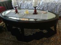 High end mirror coffee table with drawers Abbotsford, V2T 3C8