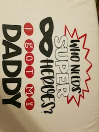 Fathers day tshirts and aprons pick up in BostonMa Boston, 02125