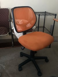 Orange Desk Chair Edmond, 73034