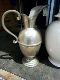 Hand Made Pewter Pitcher Montreal, H8N