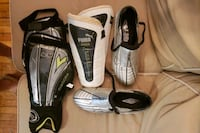 Soccer shoes Size 9.5 and two sets of shin guards Toronto, M5R 2Z5
