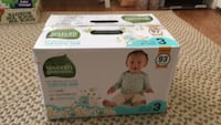 Seventh Generation Size 3 Diapers 93 Count Bew  Bethesda, 20816
