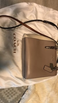 0cb7daf84c Used women s brown leather Coach sling bag for sale in Kyle - letgo