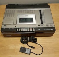 Sony Betamax VCR model SL-5400 Player Recorder. Vintage!