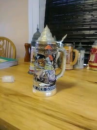 gray and brown ceramic beer stein Deep River, 06417