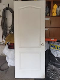 Door white 32 x 80 indoor good condition OBO Mississauga, L5V 2G3