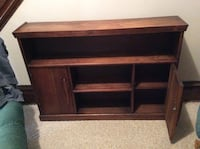 Brown wooden tv stand with cabinet Morgantown, 26501