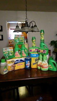 Gain, Charmin, and Bounty household bundle  San Antonio, 78238