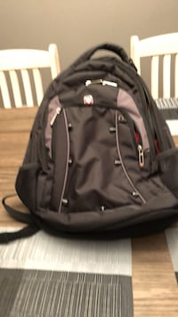 Black and gray Swiss gear backpack  Westminster, 80020