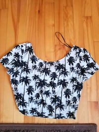 Palm tree crop top Longueuil