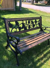 Cast iron bench Peterborough, K9J 7R8