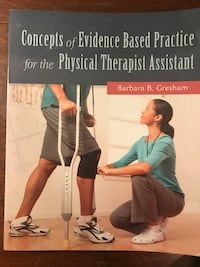 Concepts of Evidence Based Practice for the Physical Therapist Assistant by Barbara B. Gresham book Jacksonville, 28546