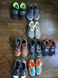 Lot of boys footwear-$65- for the lot-sizes 10-11-12 Toronto, M6R 1Z8
