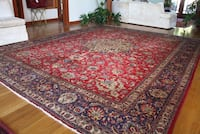 red, white, and black floral area rug Los Angeles, 90029