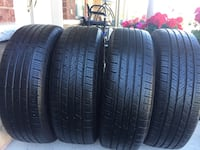 4 tires all season good condition continental tires size225/65/17 Brampton, L6R 3M6