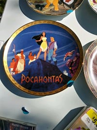 Pocahontas Disney plate East Haven, 06512