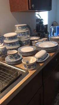 Pfaltzgraff Blue Isle Dinnerware and storage Leesburg, 20176