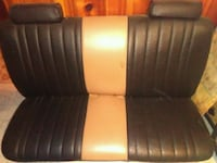 black leather padded car seat Detroit, 48219