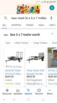 5×8 trailer for sale