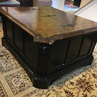 brown wooden coffee table with drawer Dumfries, 22026