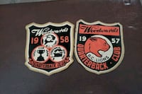 Bc Lions Woodwards quarterback club patches Surrey, V3S 7S3