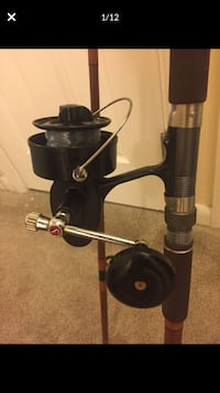 Mitchell Garcia 5 Star 9ft Fishing Rod N Reel 302 SaltWater Combo 9 Ft