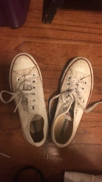pair of white Converse All Star low-top sneakers Arlington, 22205