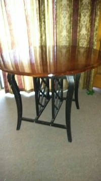 Ashley High Bar Table with Built in Wine Rack