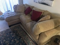 Swade Sectional Couch Pier 1 Reston, 20194
