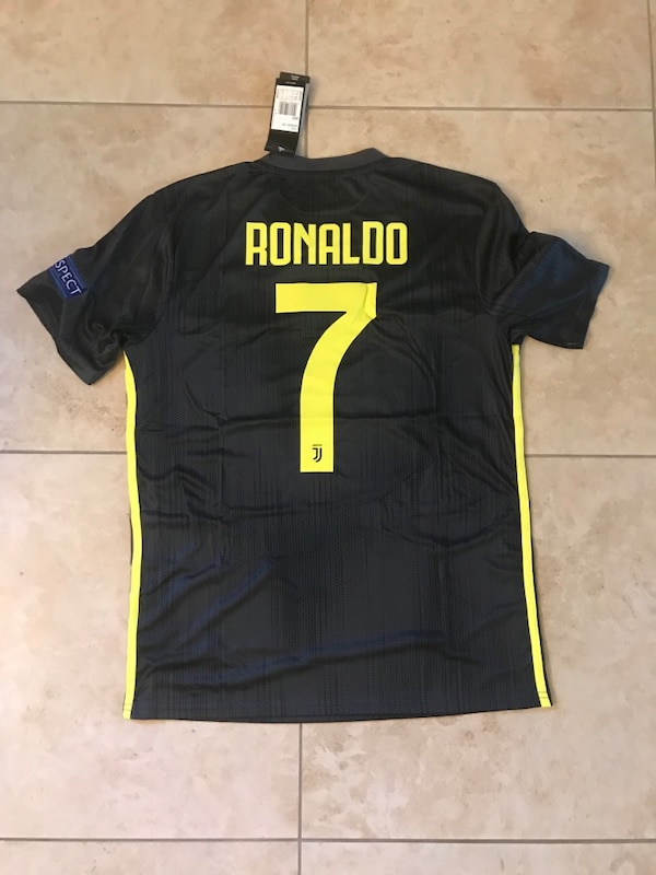 new style d741a 08f10 18/19 Juventus Ronaldo Jersey