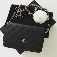 Chanel Classic Caviar Leather WOC, New With Box!!