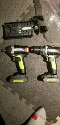 black and yellow Dewalt cordless power drill Edmonton, T5W 0P8
