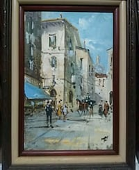 Oil painting San Francisco, 94102
