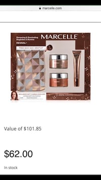 Marcelle skin care gift set_ New in box Vaughan, L6A 0J8