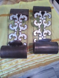 Brown with mirrors candle wall sconces  Oklahoma City, 73109