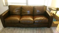 Thomasville leather 3 seat sofa Lighthouse Point, 33064