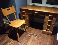 Vintage maple furniture