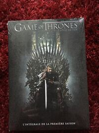 Game Of Thrones L'intégrale de la Saison 1 Freneuse, 78840