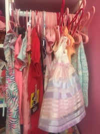A lot nice baby girl clothes for sale like new from 3 months to 1 year 1/2  Vaughan