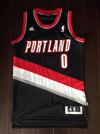 #0 Damian Lillard Jersey - Swingman Men's Small Richmond