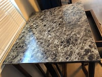 rectangular brown marble top table New Orleans, 70126