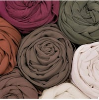 ciffon scarf more than 27 coloure available  Mississauga, L4T 2Z2