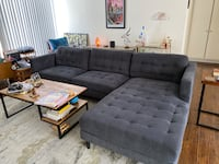 Large Sectional Couch Sofa, Great Quality Beverly Hills, 90211