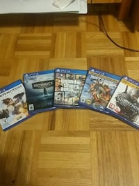 Ps4 Games All for 65 or 20 Each Mississauga